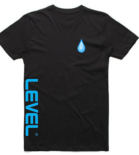 Level Water Drip Short Sleeve T-Shirt