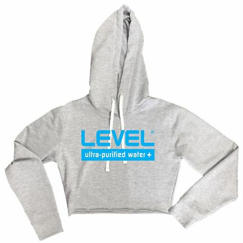 Ladies Level Water Crop Hoodie