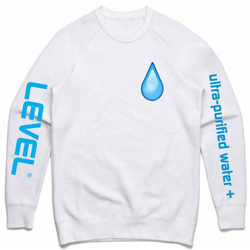 Level Water Drip Crew Neck Sweatshirt