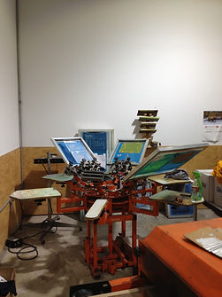 Silk Screen Printing Manual Press