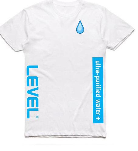 Level Water Drip Short Sleeve T-Shirt