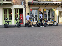 Electric Scooters in NOLA Cycles