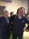 With Bruno Tommaso, Italian Jazz living legend. Is the collaboration I am most proud of and honourde of all.