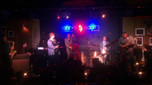 On stage at Ronnie Scott`s with Rachel Gould