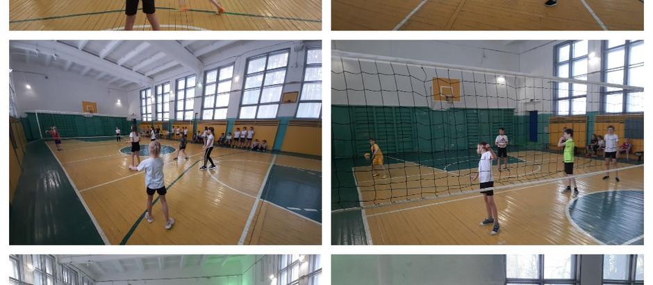 Школьный этап соревнований по пионерболу