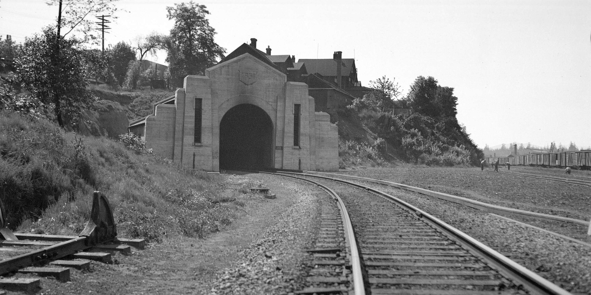 C.P.R. Tunnel North Portal at Thurlow St.