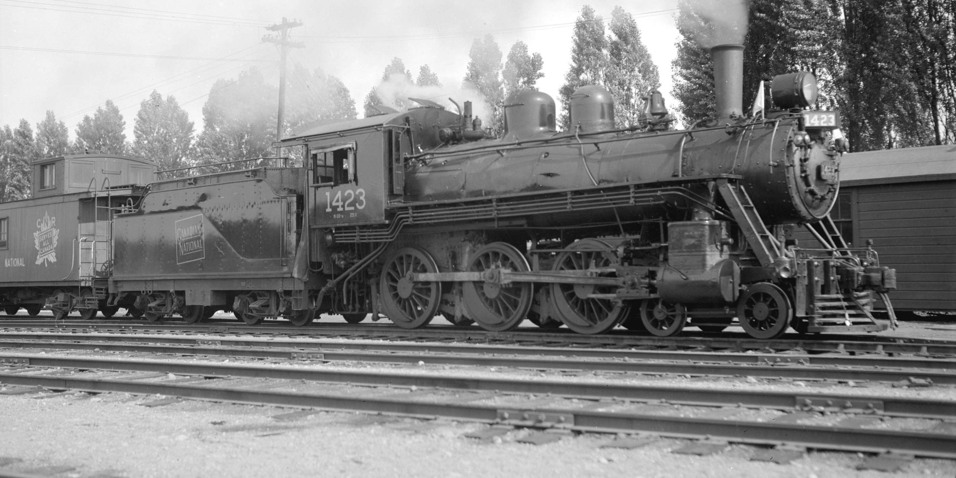 Canadian National Steam Locomotive 1423