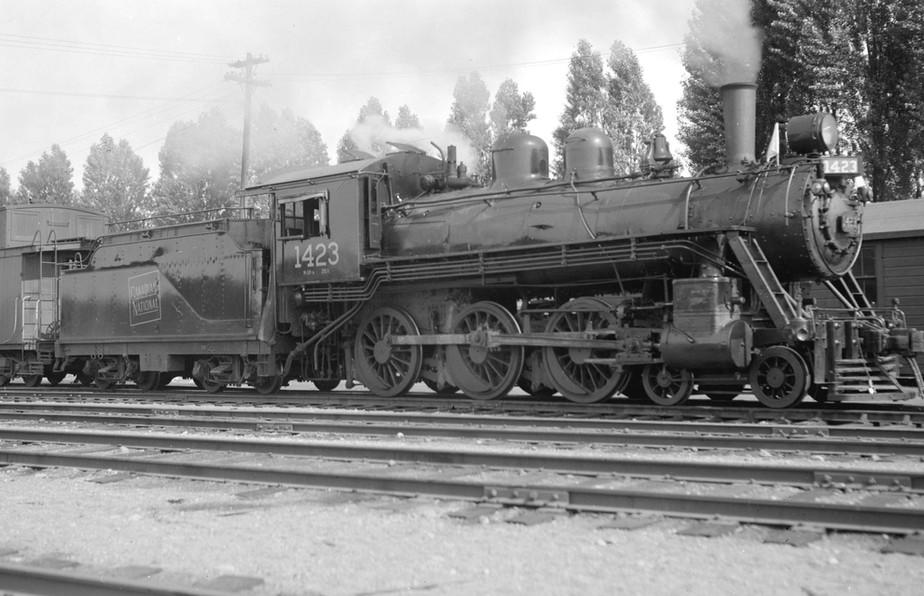 Canadian National Steam Locomotive 1423