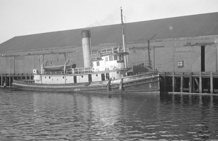 C.P.R. tugboat S.S. Qualicum