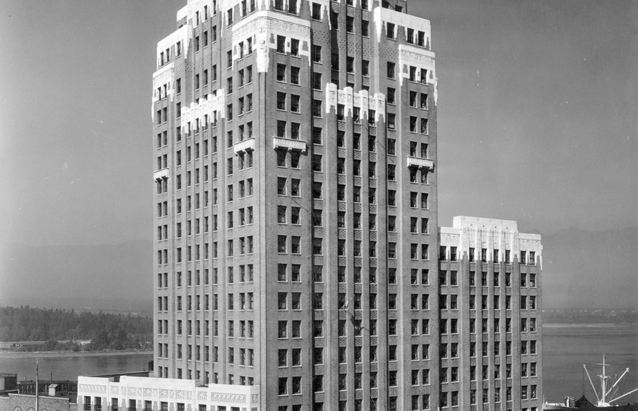 Marine Building - location of Star Shipping offices