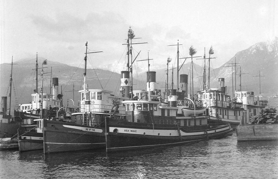 Tugs at V.H.C. Wharf