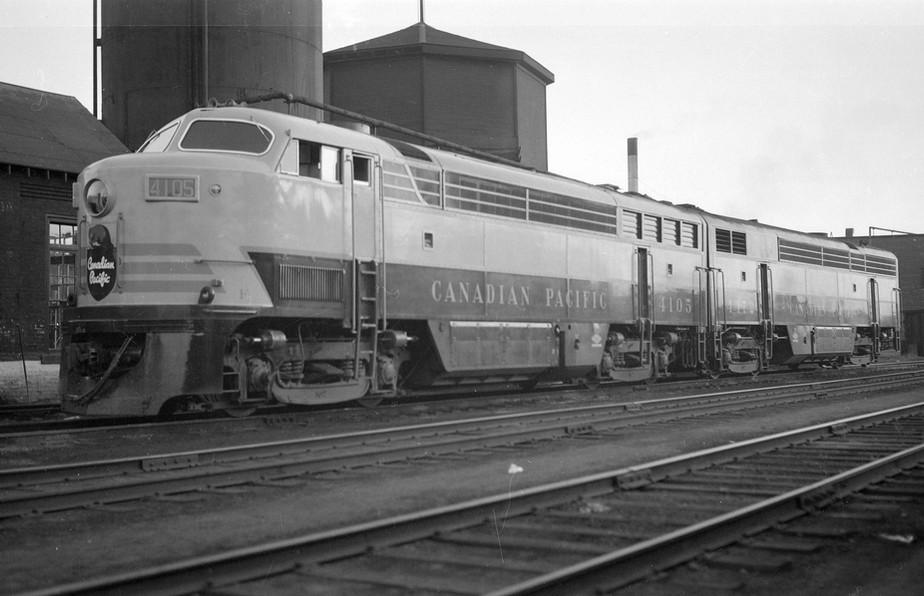 Canadian Pacific Diesel Locomotive 4105