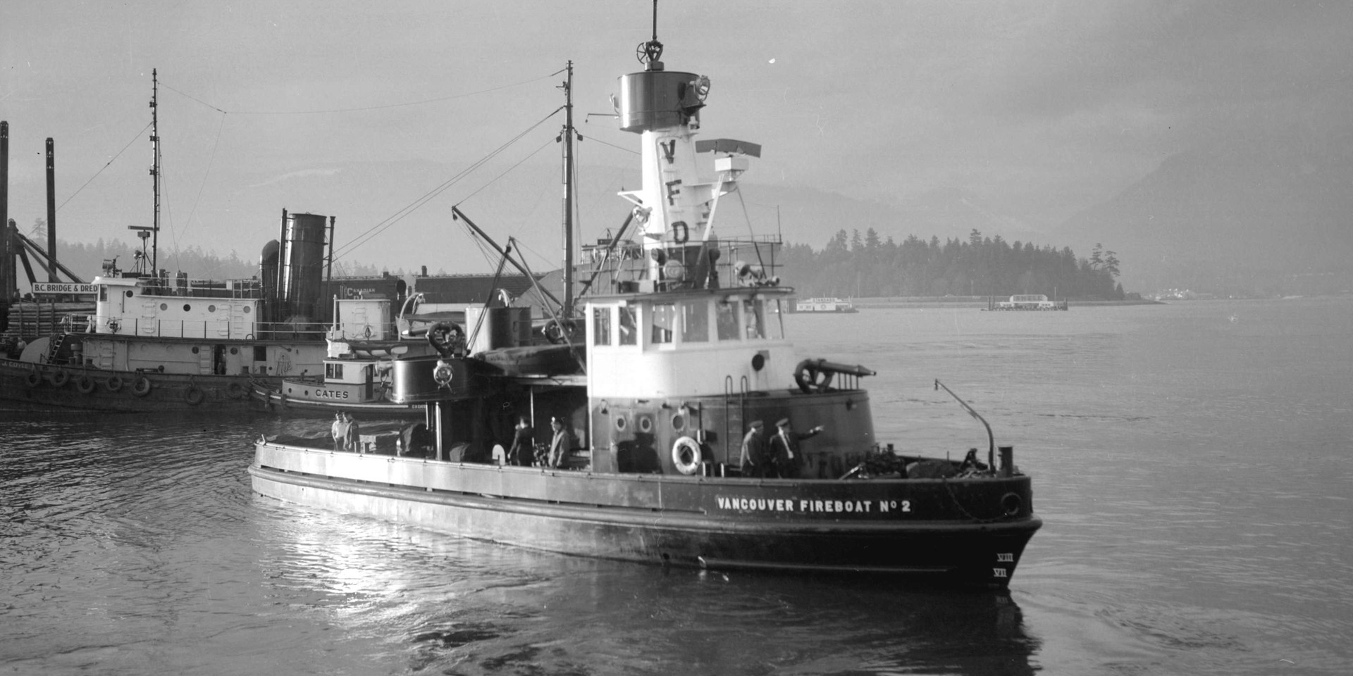 VANCOUVER FIREBOAT NO. 2 (1951-1989)