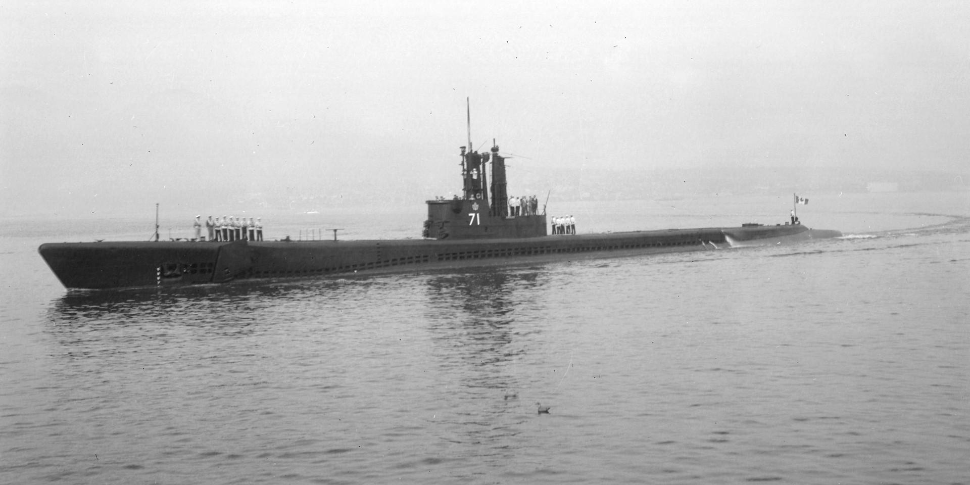HMCS Grilse (SS-71)