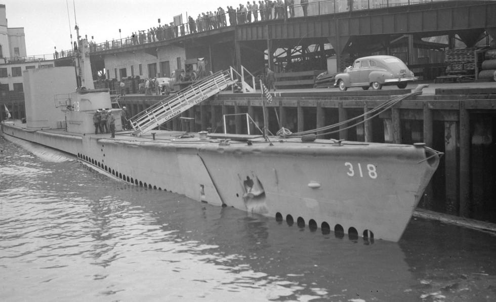 USS Baya (SS-318)