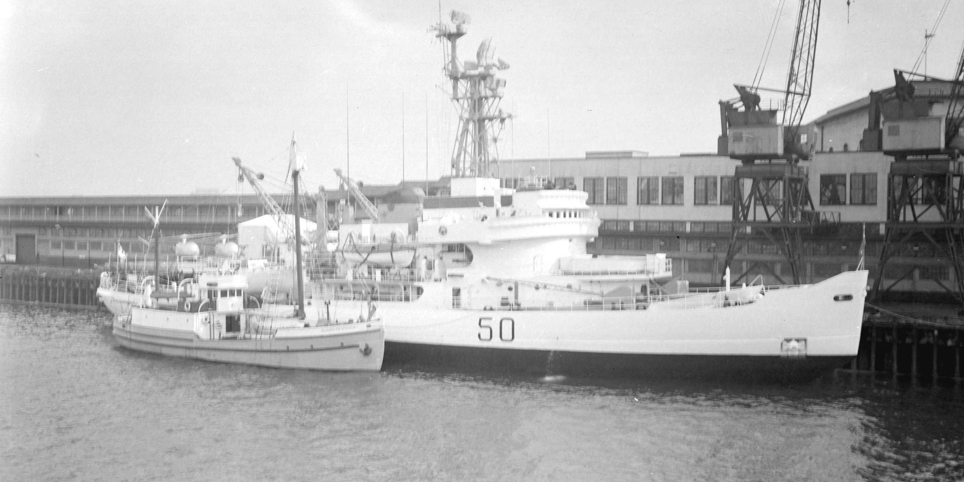 M.S. ST. ROCH & HMCS LABRADOR (1954)