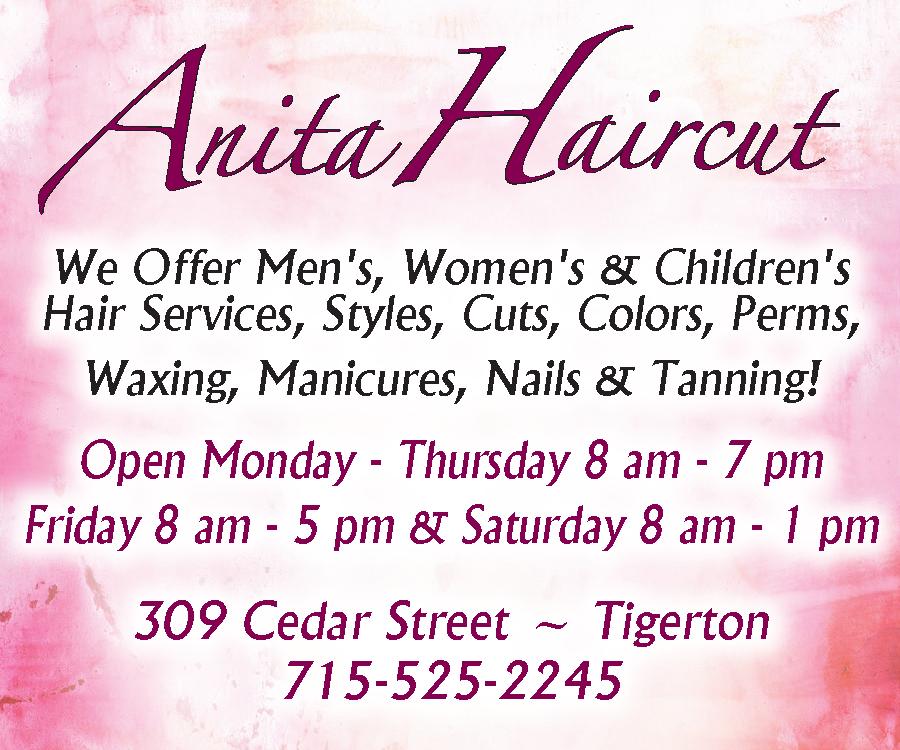 Anita Haircut