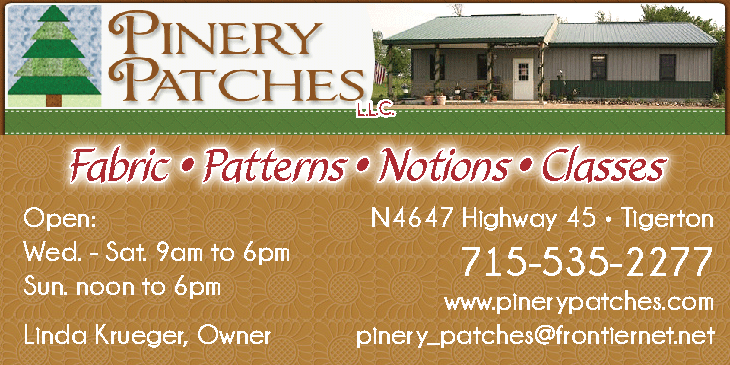 Pinery Patches