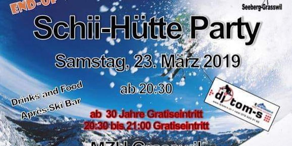 Schii-Hütte Party