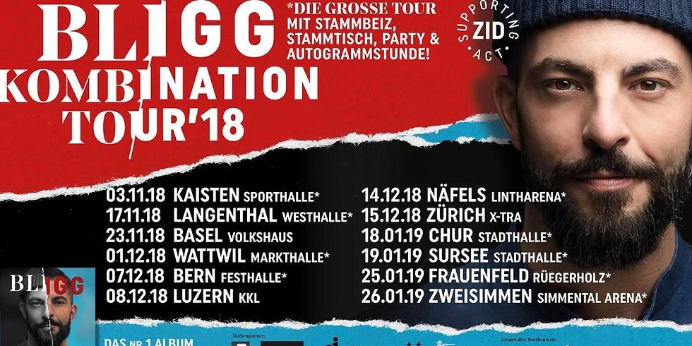 BLIGG - KombiNation-Tour in Frauenfeld