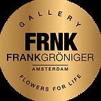 FRNK logo Frank Groniger Amsterdam Flowers for life