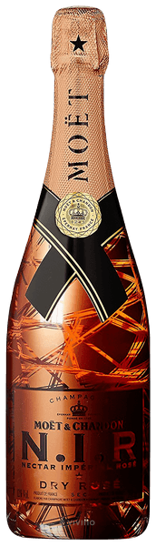 N.I.R Nectar Impérial Dry Rosé Champagne 150 CL