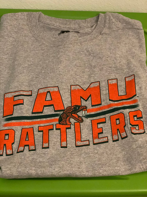 Grey FAMU Rattler Shirt