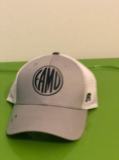 White & Gray FAMU Hat