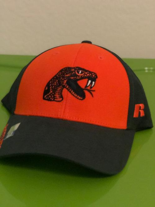 Orange & Green Rattler Hat