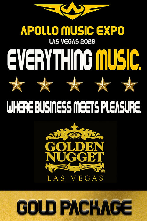 Apollo Music Expo Gold Booth Package • 10x10