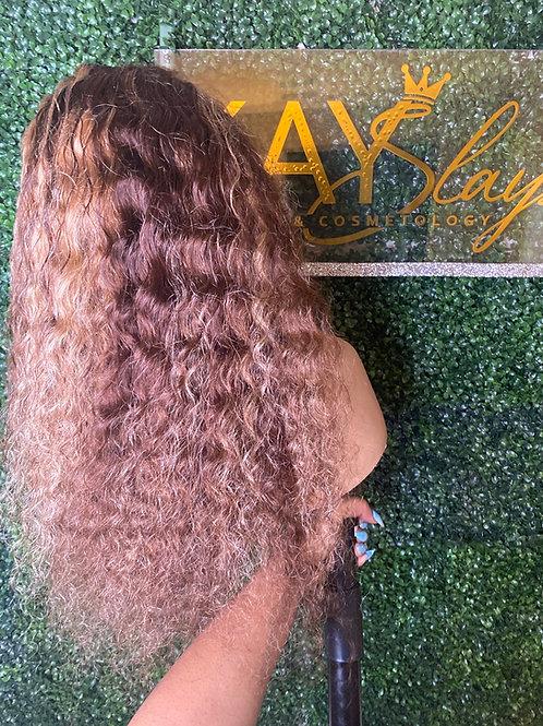 22in brazilian loose deepwave wig