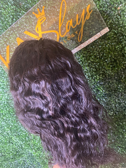 14' brizilian Hd natural wave wig