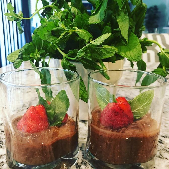 Chia Cacao Pudding