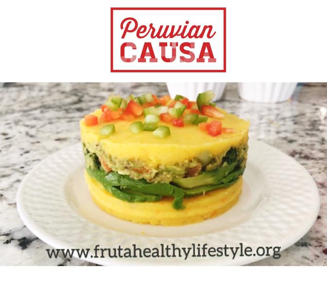 Peruvian Causa (layered potato dish)