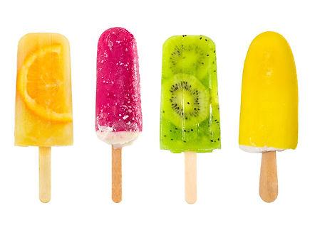fruta popsicles