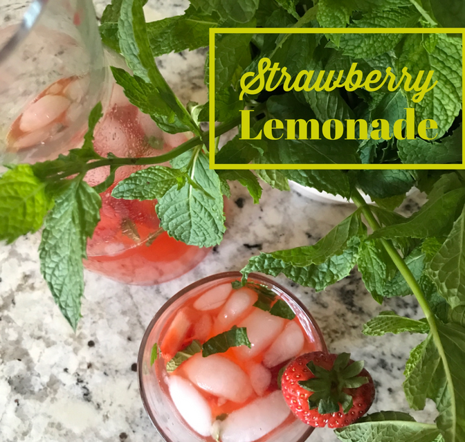 Natural Strawberry Lemonade