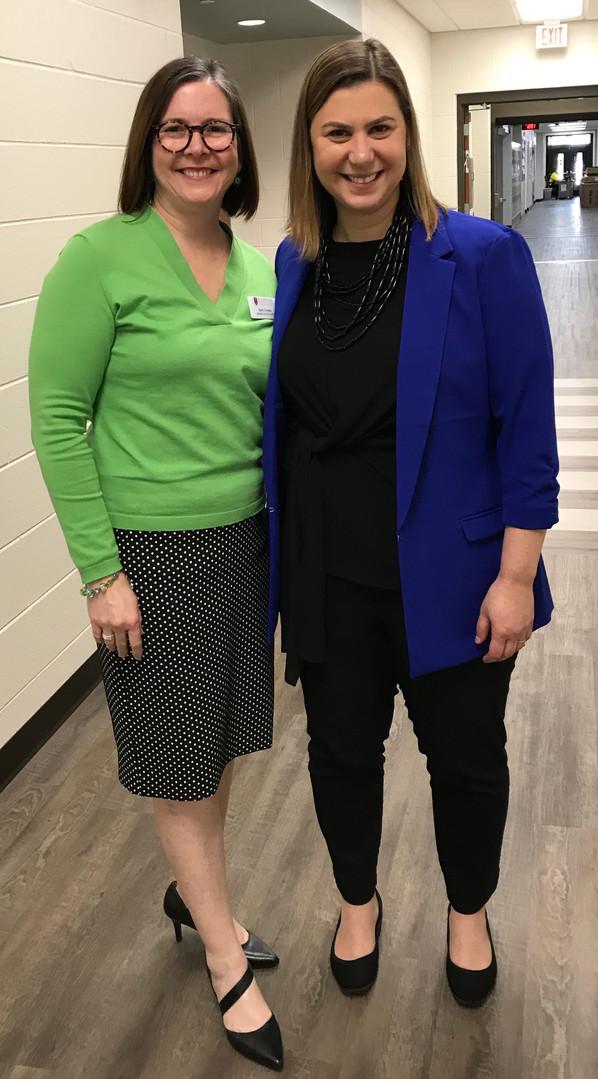 Barb and Representative Elissa Slotkin