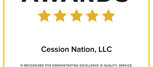 Cession Nation 2021 WeddingWire Couples' Choice Awards®