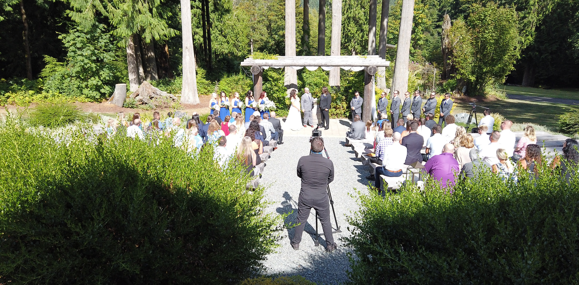 Outdoor Ceremony (Sound Provided)
