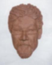 portrait, sculpture, relief