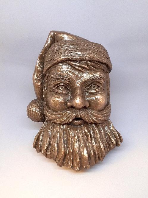 Bronze Santa Sculpture
