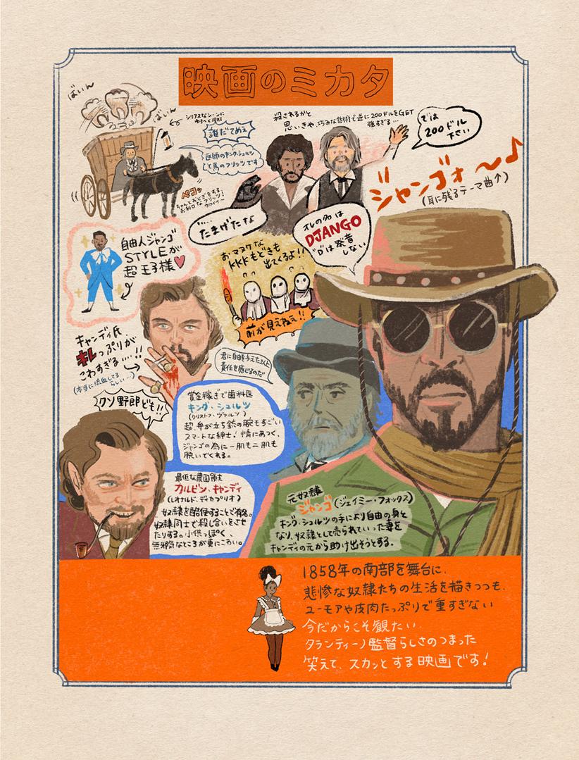 Flix 8月号 「映画のミカタ」