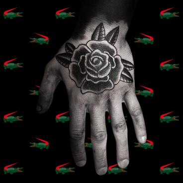 Black Traditional Rose