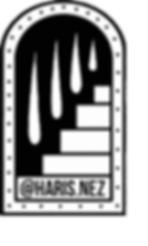 Haris.Nez LOGO white background & script