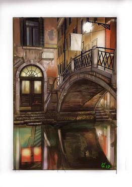 Bridge in Venice.