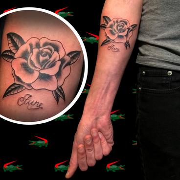 June Black Rose