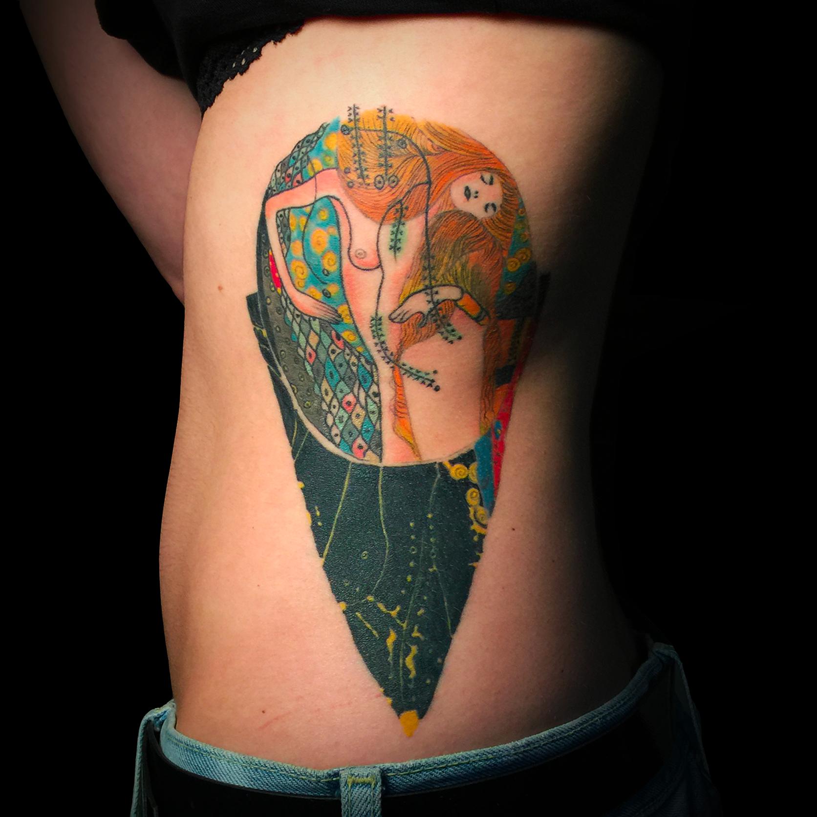 Bisce D'Acqua - Gustav Klimt