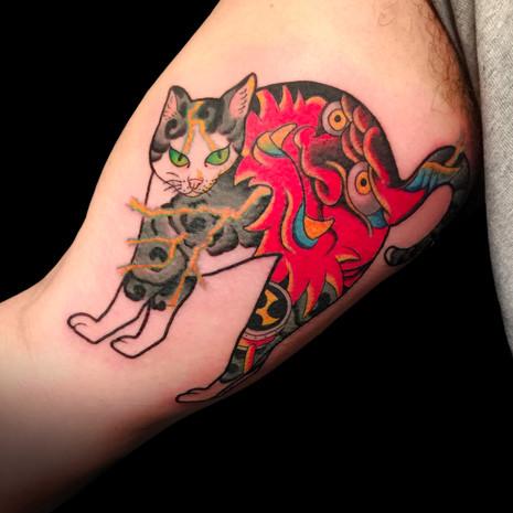 Raijin Cat