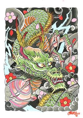 Japanese Dragon.