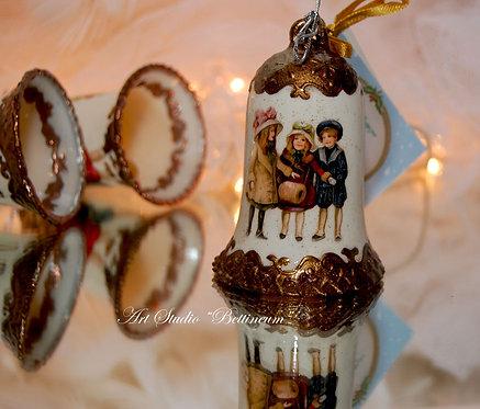 Komplet dzwonków wiktoriańskich